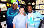 With Grandmaster Caz who wrote most of Rapper's Delight and Legendary Battle Emcee Busy Bee Starski